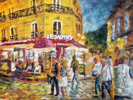 impression ambiance parisienne