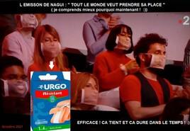 N'oubliez pas les paroles .. heu vos masques ! n'est -ce pas Nagui ? :)
