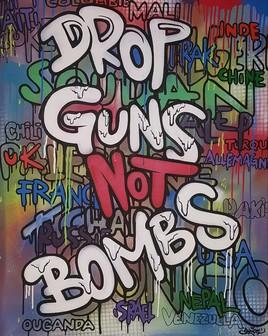 Drop Guns not Bombs