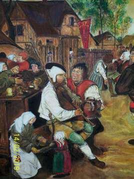 Bruegel Pieter. Détail