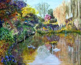 L'étang aux cygnes