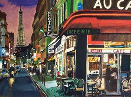 Paris ville Lumiere