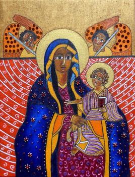 Marie et Jésus d'Éthiopie
