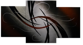282 - Abstraction triptyque