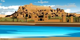 Kasba Ait ben Addou-Maroc