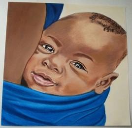 Bébé d'Afrique