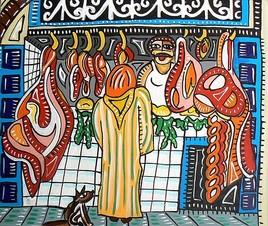 Boucherie au Maroc