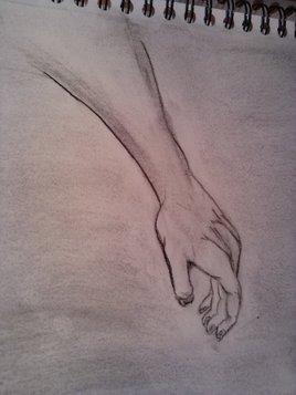 bras tendu