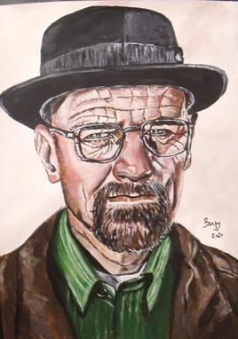 Brian Cranston Alias Walter White Alias Heisenberg Breaking Bad