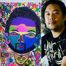 Série fluo painters David Choe