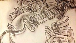 Ô guitare, que ta musique reste éternelle