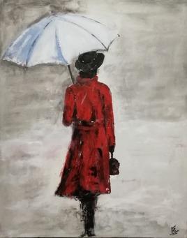 femmes au parapluie 2