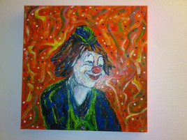 clown  joyeux