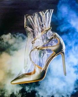 Chaussure surréaliste