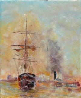 Gréement et steamer