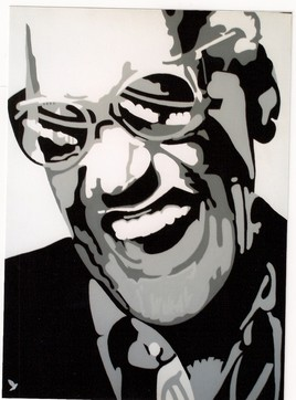 "Rhythm and blues "" Ray Charles """