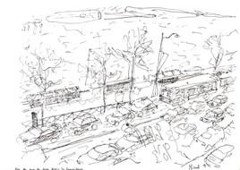 Vue du quai de Seine depuis l'ancienne Samaritaine
