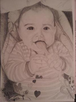 Bébé à la cuillère
