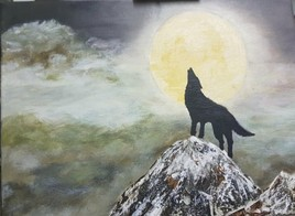 Hurlement du loup