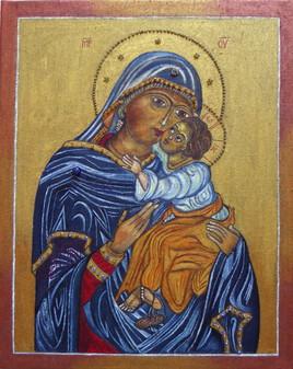 Mère de Dieu, Eleusa de la Passion