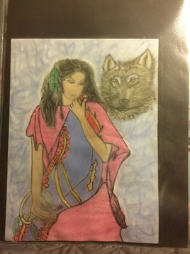 Indienne loup