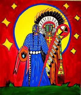 Chief and wife
