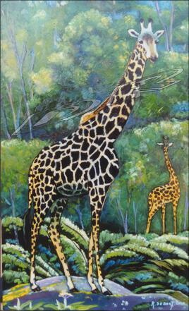 Les girafles