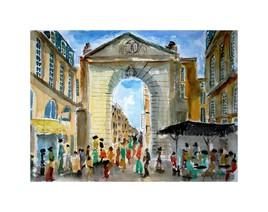 Porte Dijeaux à Bordeaux