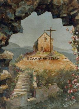 La chapelle d'Angles sur l'Anglin