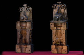 assemblage  recyclage statuette