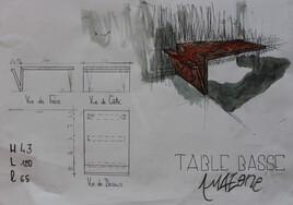 Table basse Amazone