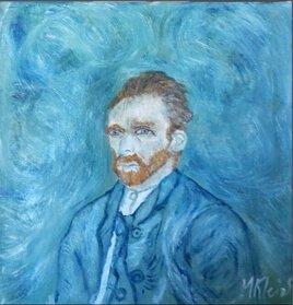 Portrait de Vincent Van Gogh! - 2-