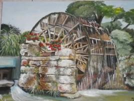 la roue de l'isle sur la sorgue
