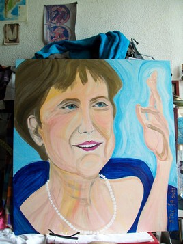 """"""" La chef d'Etat la plus bienveillante de l'Europe ... """" ( Angela Merkel )"""