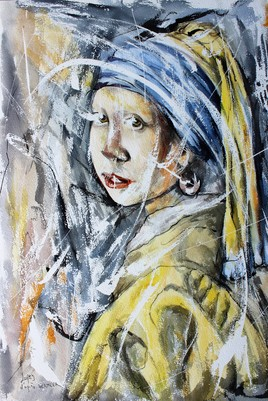 Rencontre incongrue avec Vermeer