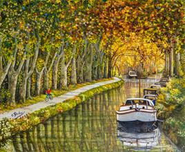 Le Canal du Midi  Automne 2019