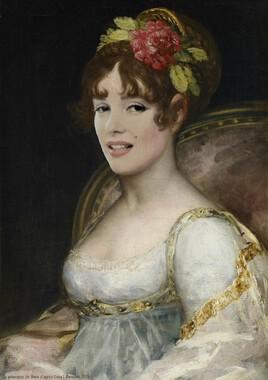 la comtesse de Haro (de Goya )  revisitée avec Marilyn :)