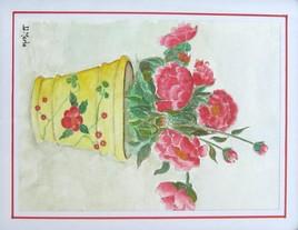 Peinture Pivoines