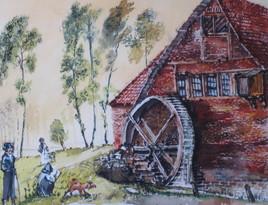 Moulin sur la Woluwe