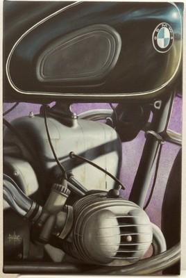 BMW R50 de 1955