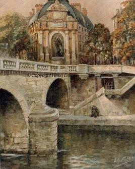 Pont Saint Michel à Paris