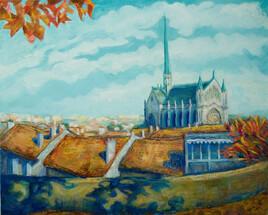 Angoulême - Notre Dame d'Obezine - Eté