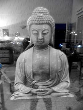 bouddha flottant