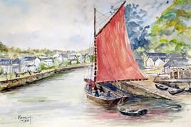 Quand Quimper était un port