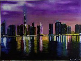 Les lumières de Dubaï