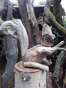 écureuil malin