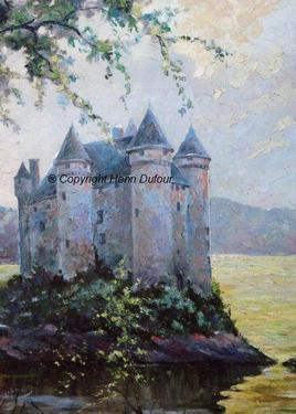 Château de Bord les orgues