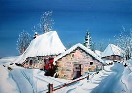 Niérvèze sous la neige