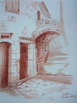 Le Parage - vieux village des Arcs-sur-argens (83460)