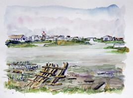 A Léchiagat : l'arrière port du Guilvinec